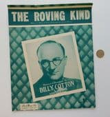 The Roving Kind vintage sheet music 1950s pirate sea folk love song Billy Cotton